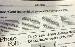 Blue/Gold assemblies hold unknown significance