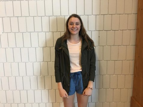Sophomore Janie Brunell will take over as SADD's new president during next year. She hopes to bring greater awareness to the community about destructive decisions and their repercussions.