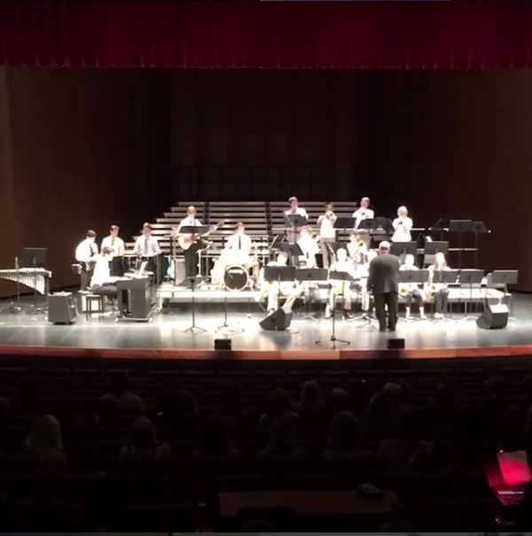 The Advanced Jazz band wows with its rendition of