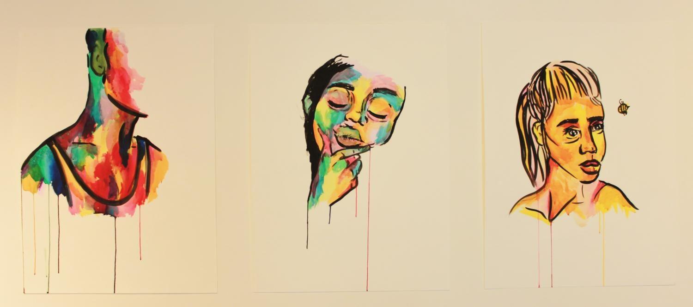 Paintings by Hana Martinez