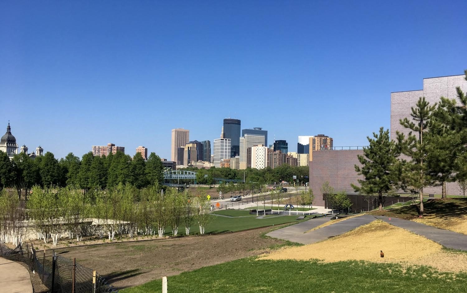 The Minneapolis Sculpture Garden will reopen in June. It is free for the public, and is a perfect place for someone who wants to be outside and appreciate art.