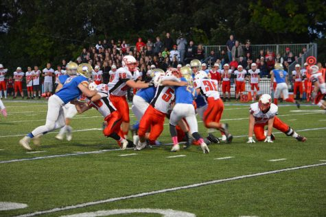 Crusaders and Wolfpack in a massive pileup.
