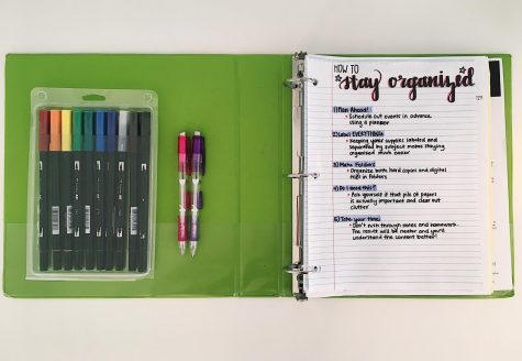 Follow these tips for a more organized study space