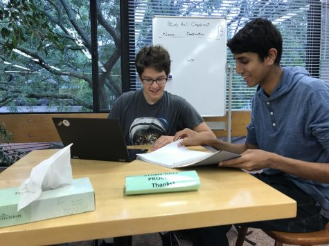 Senior Rahul Dev founded Agoge Tutoring to engage his classmates through homework assistance.