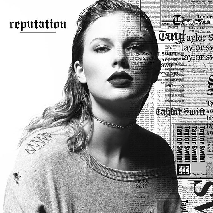 The cover of Taylor Swift's newest album