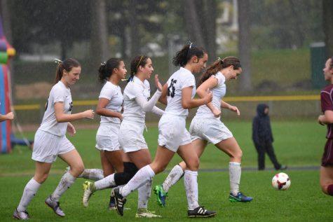 Girls Varsity Soccer beats Northfield for a homecoming win