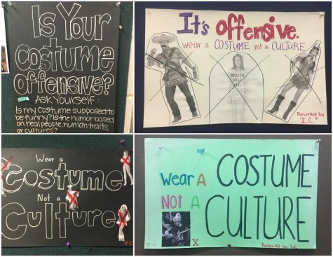 IC posters demote cultural appropriation in Halloween costumes