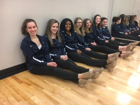 "DANCE LINE. With student leaders, the teammates hope that the closeness developed last year will get stronger: ""I really want it to be an open environment,"" captain Ellie Hoppe said."