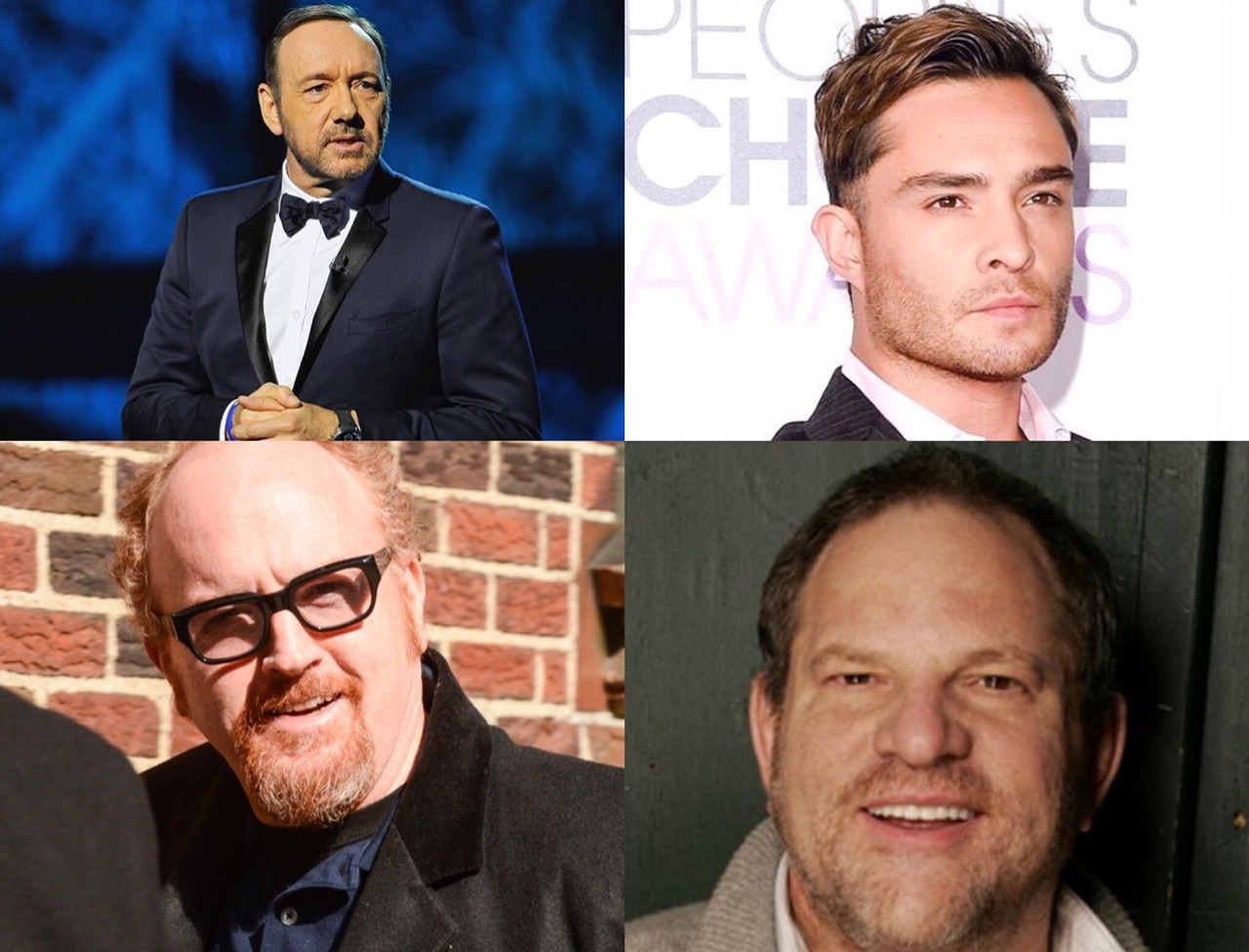 High profile men such as Kevin Spacey, Ed Westwick, Louis C.K. and Harvey Weinstein have all been accused of sexual assault.
