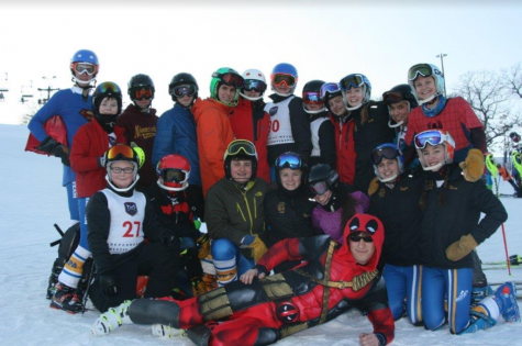 From bus to slopes, the Alpine ski team has fun
