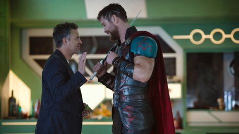 Thor and Bruce Banner lead the colorful cast of Ragnarok.