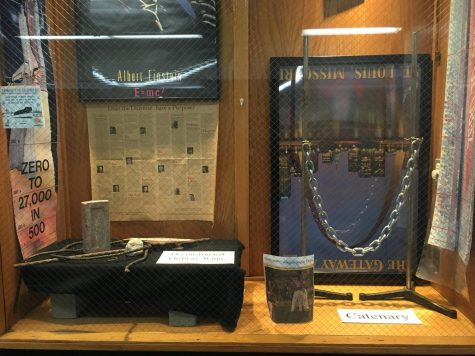 On display: the stories behind the US science hallway glass cases