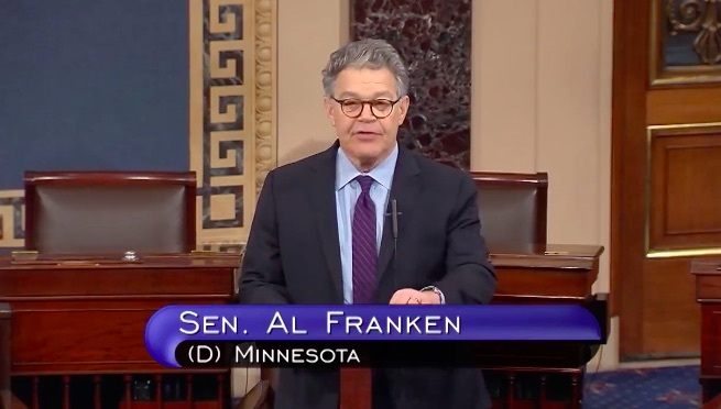 Al Franken announced his resignation from the Senate in the coming weeks amidst multiple accusations of sexual misconduct.