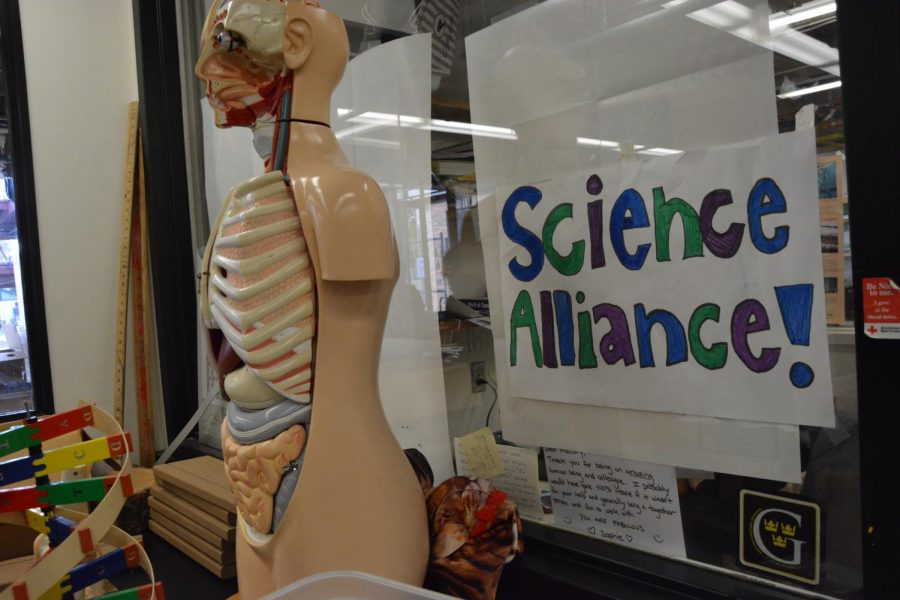 Science Alliance meets during Thursday X Period in 101.