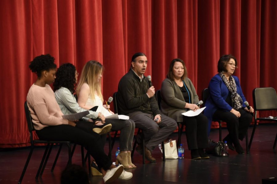 The panelists share their stories and opinions about modern race relations.