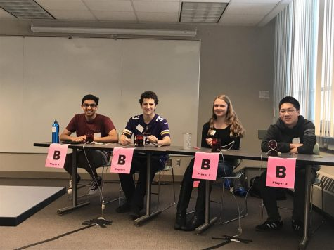 Seniors Ben Konstan, Iya Abdulkarim(not pictured) and Adnan Askari along with Juniors Isabel Dieperink and Jeffery Huang competed for the SPA 1 team.