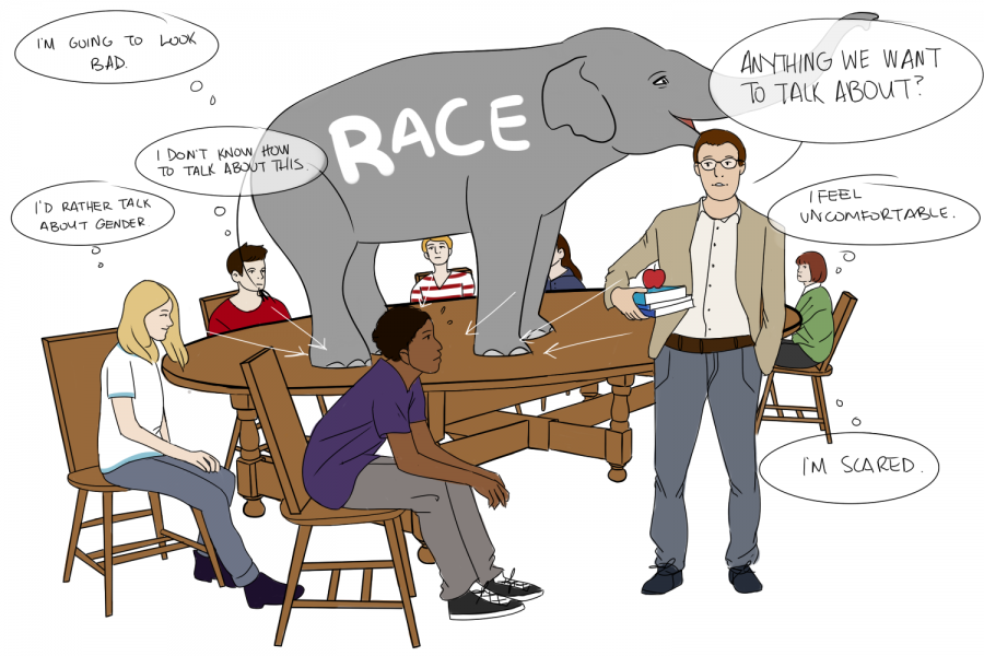 ELEPHANT IN THE ROOM. SPA needs to address what is missing from its curriculum: meaningful conversations about race.
