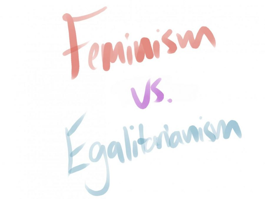 A war on words: feminism vs. egalitarianism