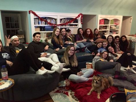 Senior Tess Hick hosted her annual Galentine's day celebration for the senior class on Feb. 10 to honor female friendships and bonds.