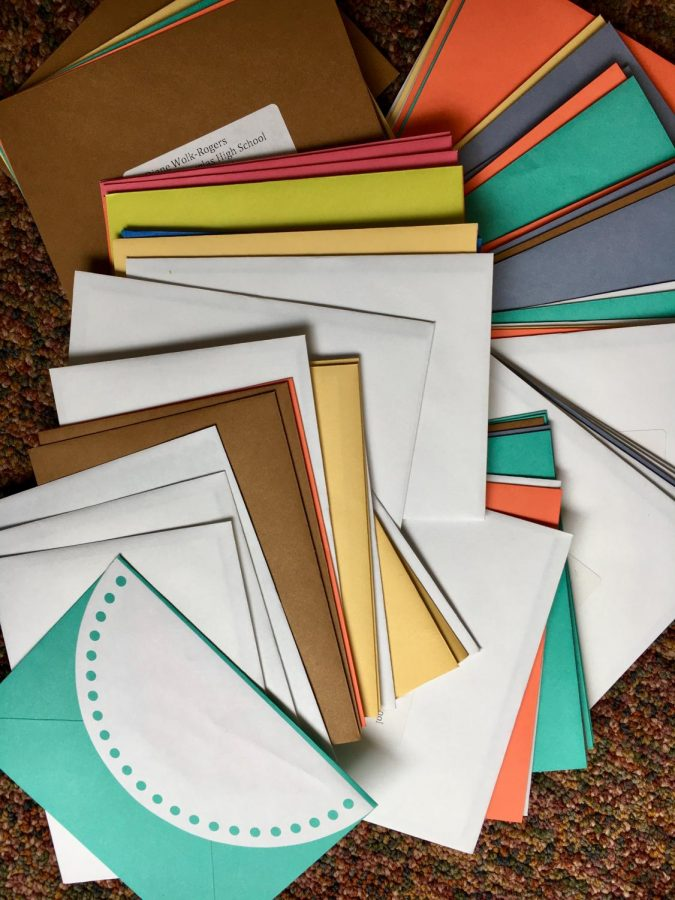Altogether, Peer Helpers and SPA Publications collected close to 80 notes to send to Marjory Stoneman Douglas HS.
