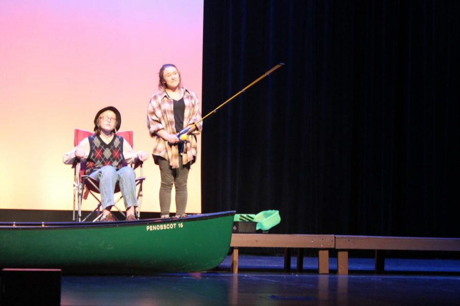 """""""I had a fantastic cast that did great job of bringing my ideas to life and I'm extremely proud of all of them,"""" senior Maya Shrestha said."""