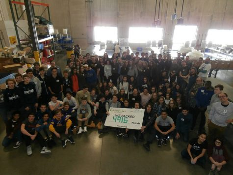 The Class of 2020 volunteered at Second Harvest Heartland on their February retreat.
