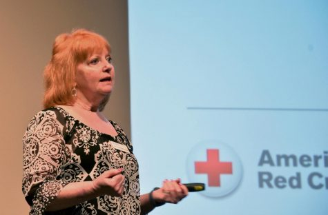 Blood Drive speaker emphasizes importance of donating