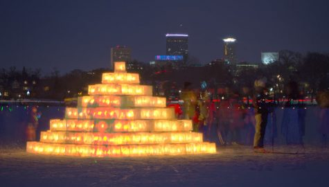 The Luminary Loppet excites during Super Bowl weekend