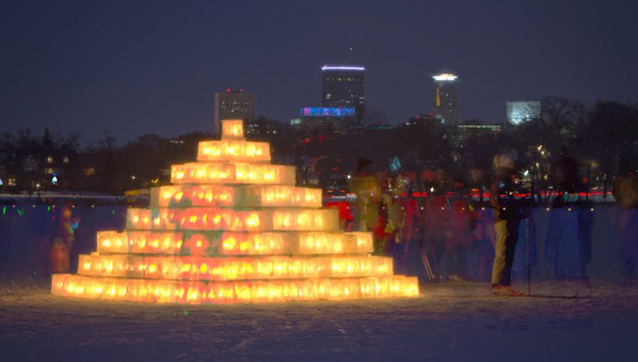 The 2017 Luminary Loppet. Fair use image from loppet.org