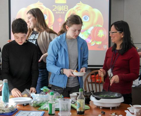 Chinese New Year celebration hosted by Intercultural Club