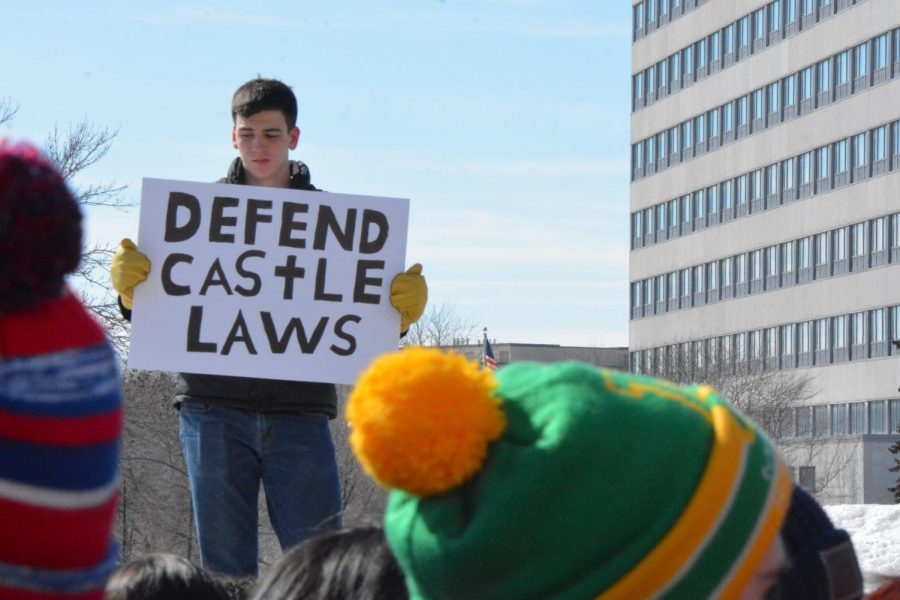 Castle laws protect one's right to use weapons to defend their home.