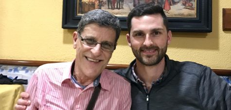 From student to colleague: Daniels and Castellanos speak of relationship, Spanish exchanges
