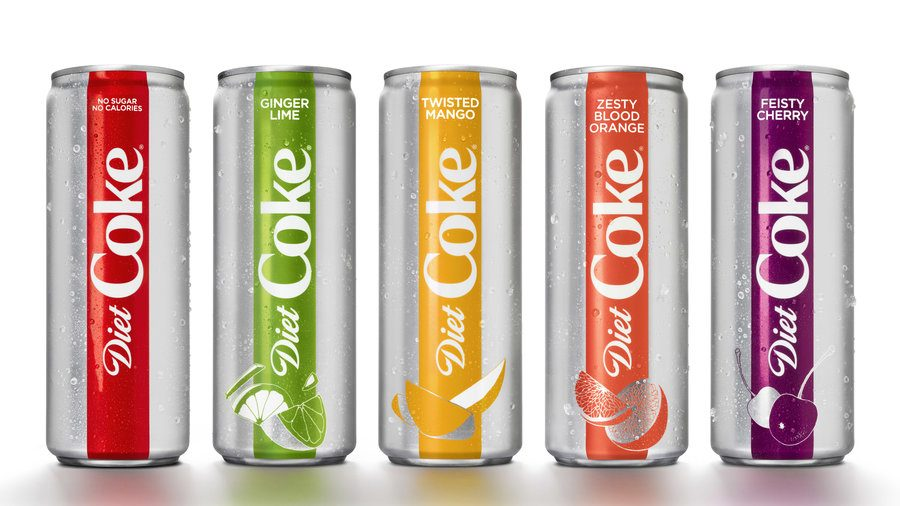 [REVIEW] Diet Coke's redesign offers purely esthetic taste