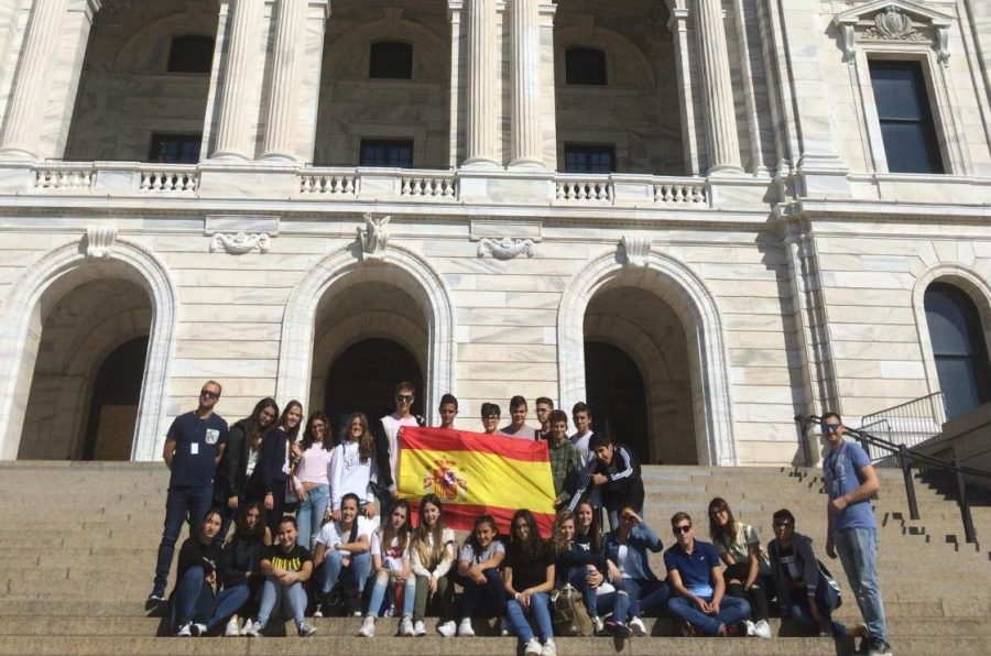 SPA+students+will+reunite+with+their+Spanish+exchange+partners+who+visited+Minnesota+last+fall.+