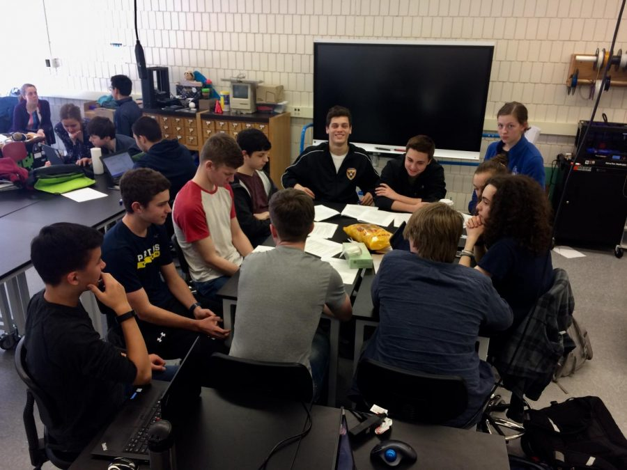 Students interested in joining STC met on Apr. 5 to discuss goals and expectations for the future of the group.