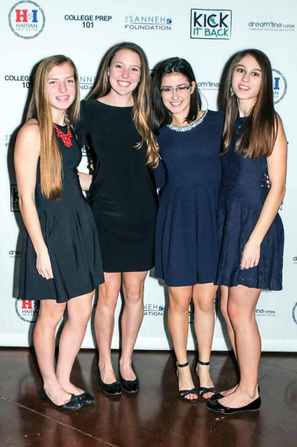 """Senior Emilia Hoppe has volunteered at the annual Sanneh Foundation gala with her friends for over five years. """"The Sanneh Foundation helps run the Conway Community Center in St. Paul where they provide free after-school care and dinner services. The program is a bit understaffed, so I will help keep the kids entertained and supervised,"""" Hoppe said."""