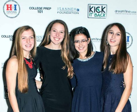 "Senior Emilia Hoppe has volunteered at the annual Sanneh Foundation gala with her friends for over five years. ""The Sanneh Foundation helps run the Conway Community Center in St. Paul where they provide free after-school care and dinner services. The program is a bit understaffed, so I will help keep the kids entertained and supervised,"" Hoppe said."