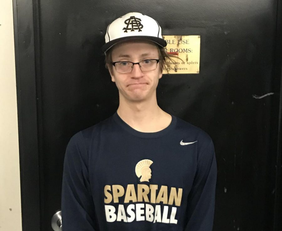 Senior baseball captain Tom Patterson looks to lead his team to another successful season
