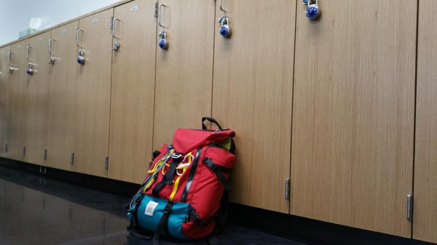 Are backpacks enough, or are lockers needed for extra space?
