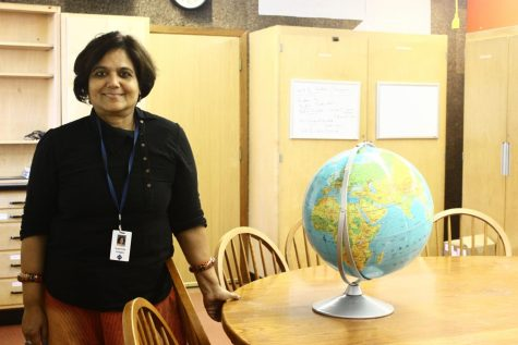 US History teacher Sushmita Hodges emphasizes decolonization in her classes.