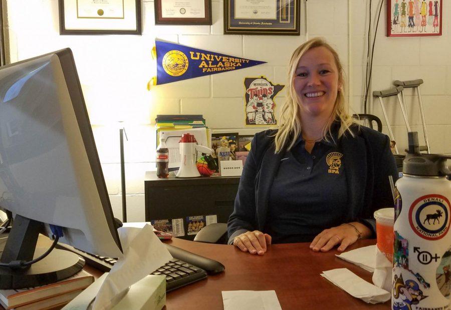 US athletic director Andrea Schmidt