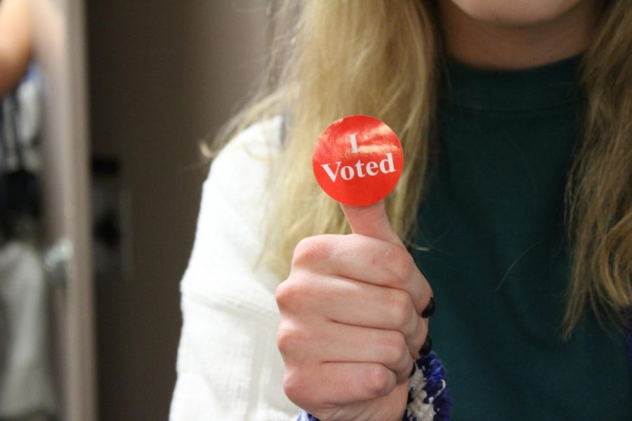 Students made their voices heard at the Nov. 6 Mock Midterms.