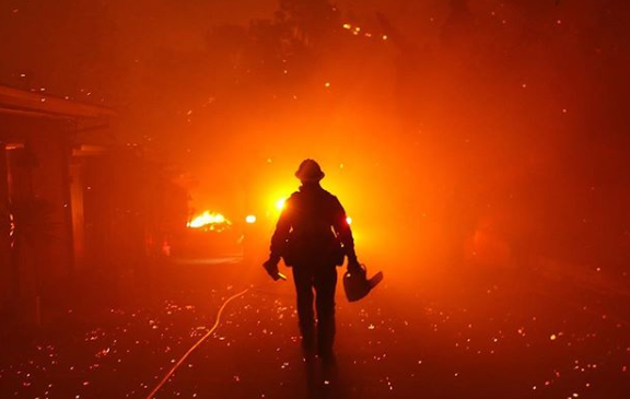California wildfires leave devastation in their wake