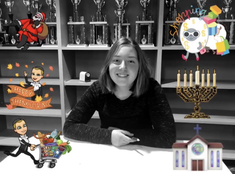 Junior Celeste Parke-Reimer, along with fellow classmates, share how they celebrate tradition during the holidays.