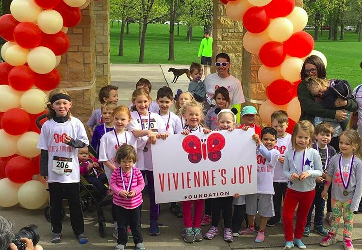 Vivienne's Joy Foundation hosted a Fun Run to raise awareness about the playground that they would be building shortly after.