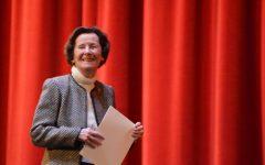 Huss thanks Summit School, inspires generosity