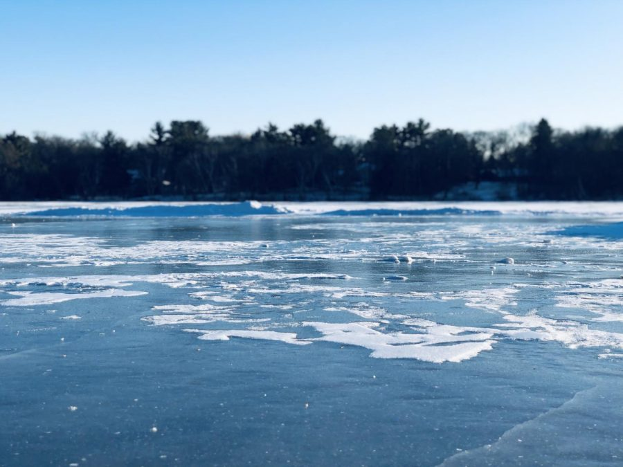Frozen lakes, if iced over enough, are the perfect place to skate. Especially in Minneapolis lakes, such as Lake Nokomis, where the U.S Pond Hockey Championships has occurred just this past weekend.
