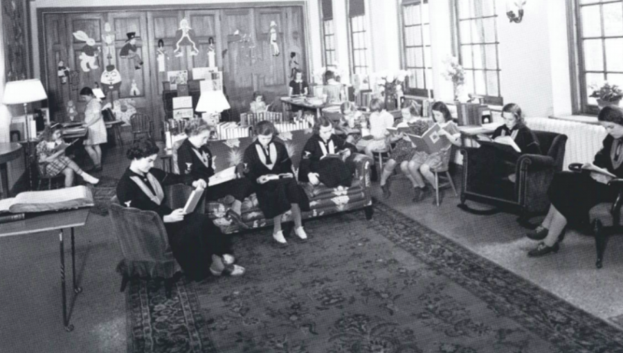 The Summit School library still exists today for students at the SPA Lower School to take library courses and check out books.