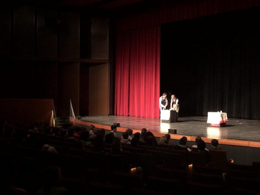 Ninth graders perform Romeo and Juliet at VeronaFest