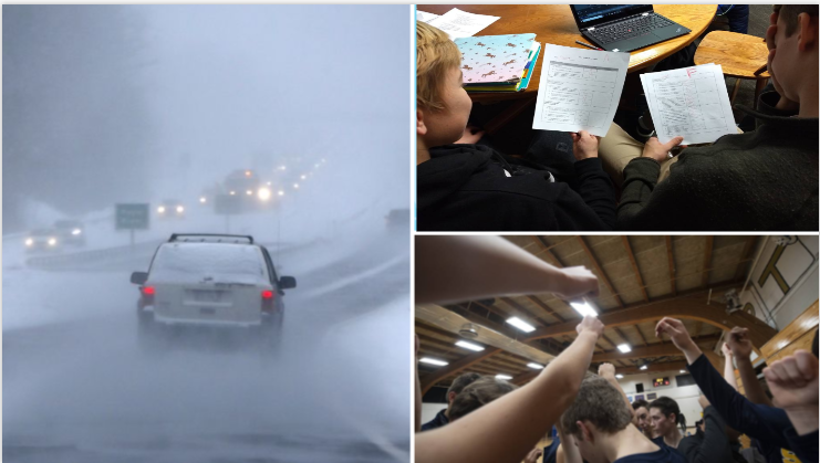 Driving to school with bad roads can cause after-school activities to be canceled.